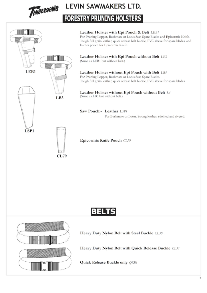 Levin Forestry Catalogue 4