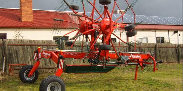 New Taarup 9472C Twin Rotor Rake