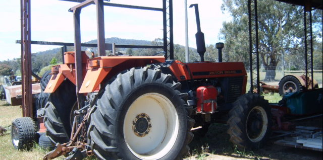 Used Zetor 8045 80HP Tractor